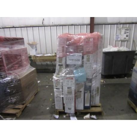 Salvage TVs, 9 Single Pallets, Retail $31,965
